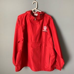 Champion Indiana University Windbreaker